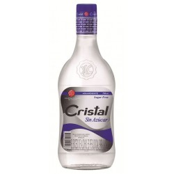 Aguardiente Cristal Sin Azucar AZUL - 70 Cl.