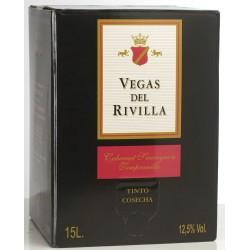 Box Vegas del Rivilla Tinto 15 litros