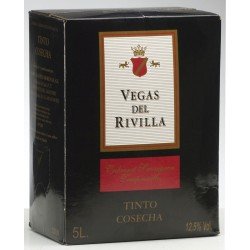 Box Vegas del Rivilla Tinto 5 litros