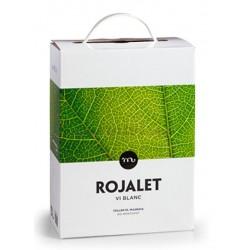 ROJALET BLANCO  BOX  3 LITROS
