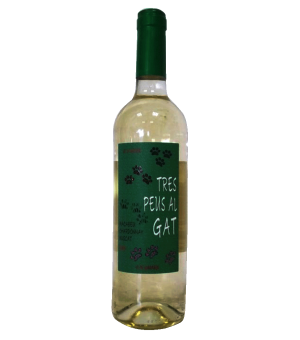 Tres Peus Al Gat Blanc - 75 Cl.