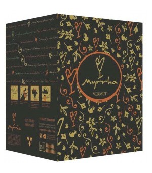MYRRHA ROJO BAG IN BOX  15 LITROS