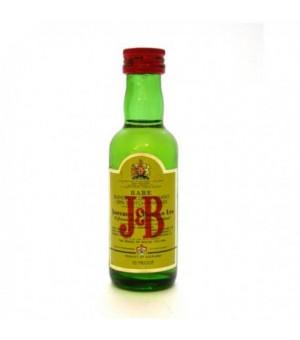 Miniatura Whisky J.B.  5 cl. (Caja 12)