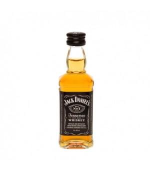 Miniatura Jack Daniel's  5 cl. (Pack 10 Unid.. Caja 120 Unid.)