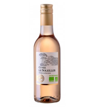 Cuvée Le Soleiller  Rosado 25 cl. (Terres de Baumier)