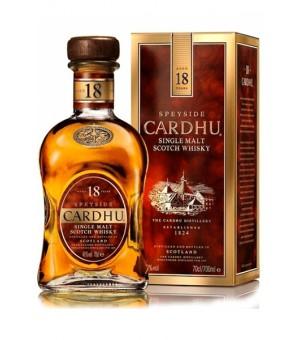Cardhu 18 años