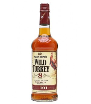 Wild Turkey 8 Años - 70 Cl.