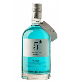 Gin 5 Th Water Floral (AZUL) - 70 Cl.