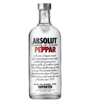 Absolut Peppar - 100 Cl.