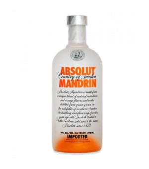 Vodka Absolut Mandrin - 70 Cl.