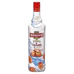 Vodka Rushkinoff Caramelo - 100 Cl.
