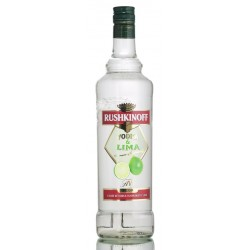 Vodka Rushkinoff Lima  - 100 Cl.