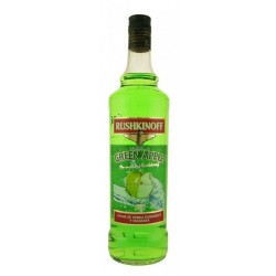 Vodka Rushkinoff Manzana Verde  - 100 Cl.