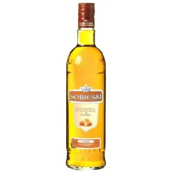 Vodka Sobieski Caramelo - 70 Cl.