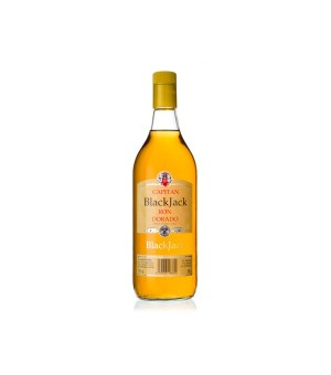 Ron Capitan Black J Dorado - 100 Cl.