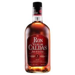 Ron Viejo Caldas 5 Años Juan De La Cruz  - 70 Cl.