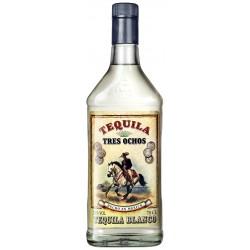 Tequila Tres Ochos Blanco - 70 Cl.