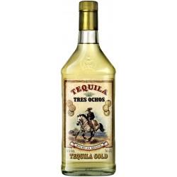 Tequila Tres Ochos Gold - 70 Cl.